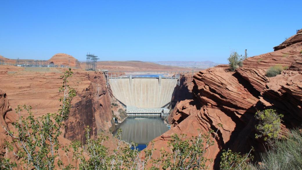 Le barrage de Glen Canyon - Glen Canyon Dam