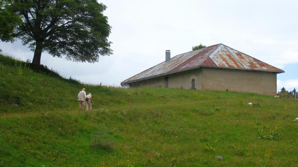 Le chalet du Planet, sur les hauteurs de Bassins, Vaud.