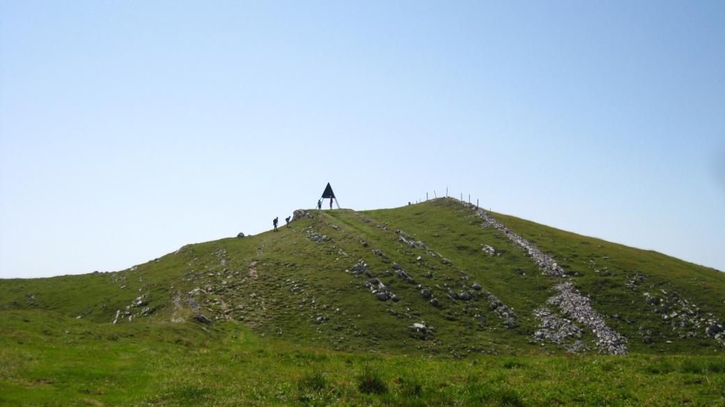 Le sommet du Mont Tendre - Vaud - Suisse