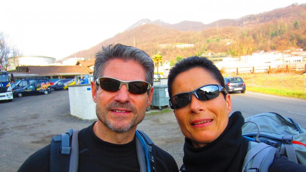 De Grancia vers Montagnola - Tessin - Suisse