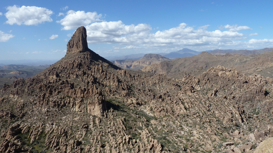Weavers Needle, Superstition Wilderness Area, Arizona