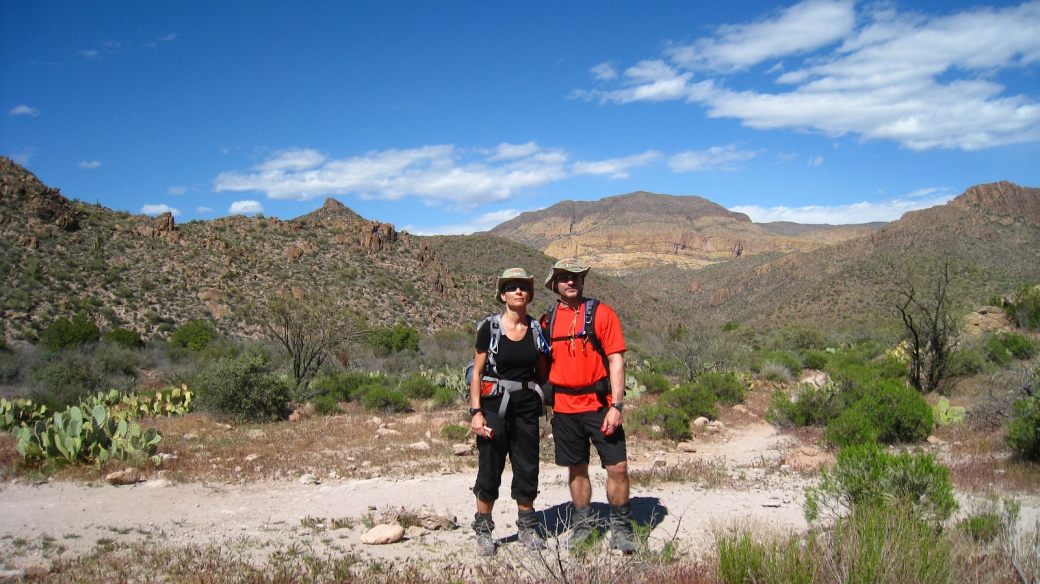 First Water Trail - Superstition Mountains - Arizona
