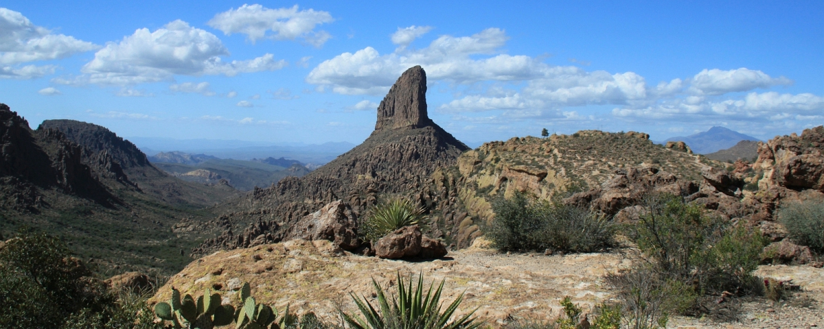 Weavers Needle on the Peralta Trail