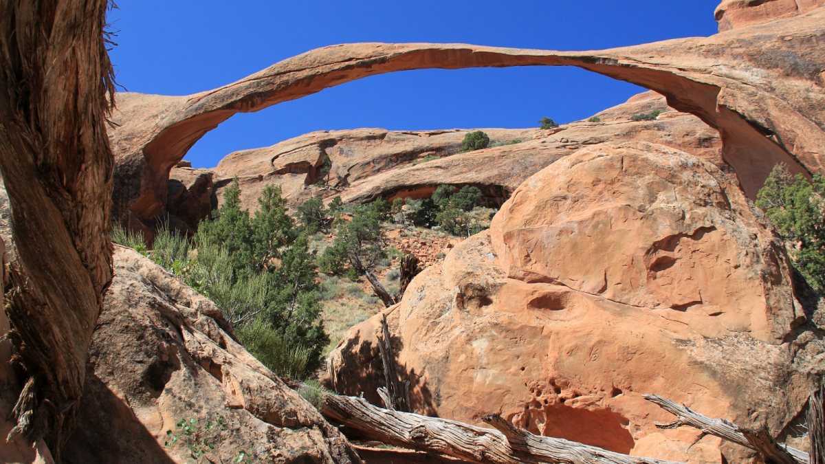 Landscape Arch - Arches National Monument - Utah