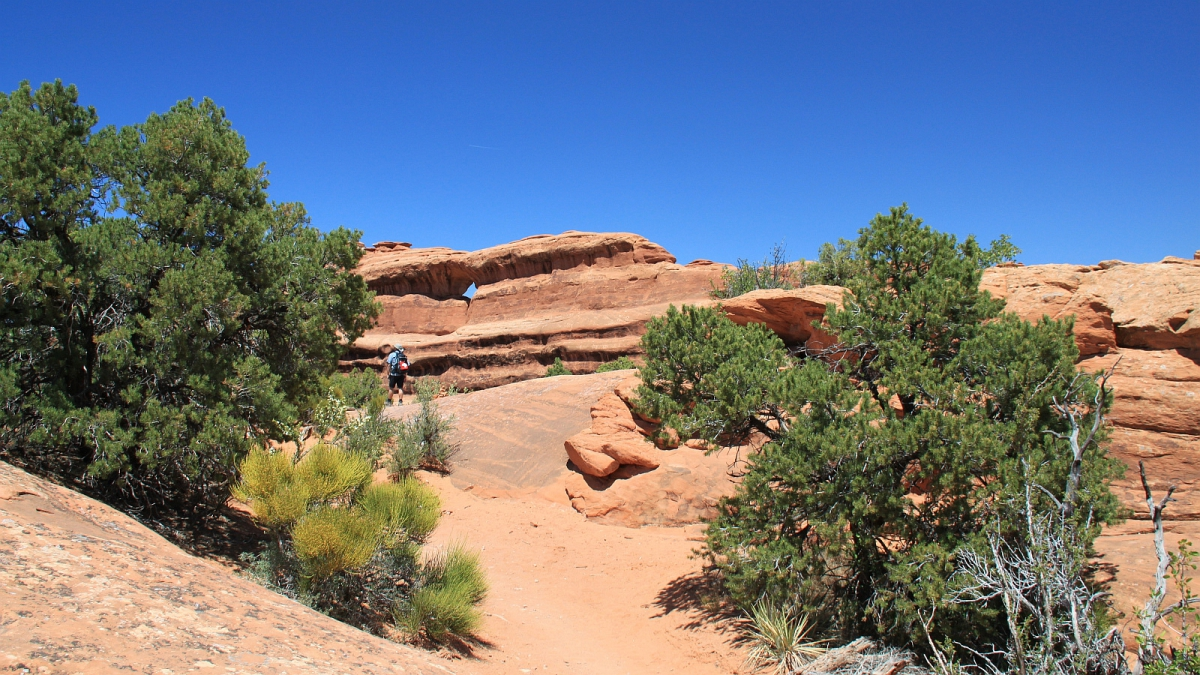 Top Story Window - Arches National Park - Utah