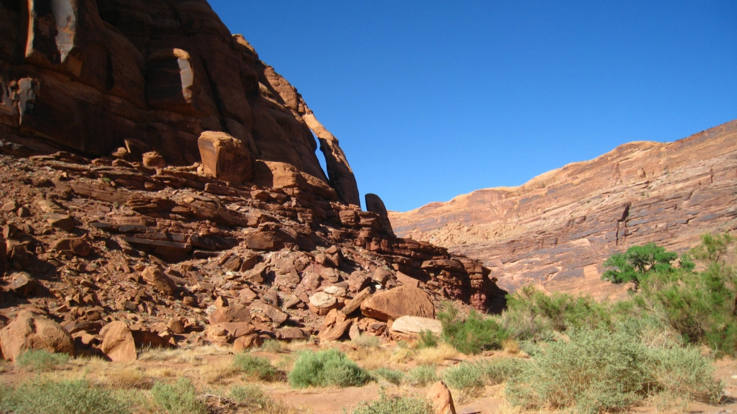 Jug Handle Arch - Moab