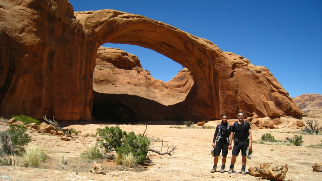 Stefano et Marie-Catherine - Pritchett Arch - Moab
