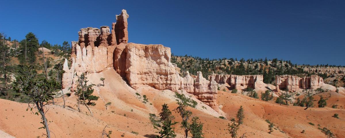 Sur le Fairyland Trail, à Bryce Canyon, Utah.