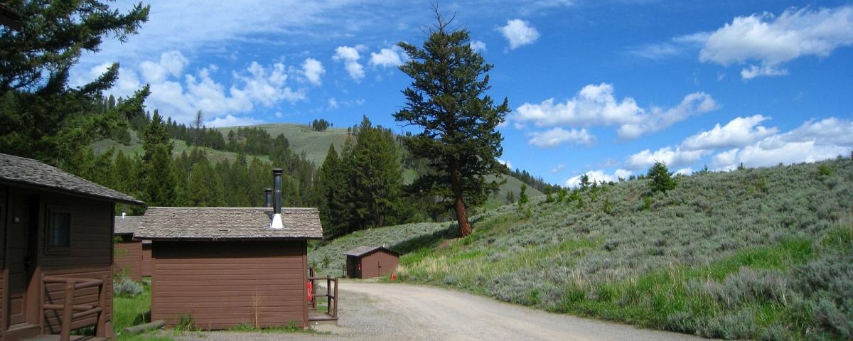 Roosevelt Lodge - Yellowstone National Park