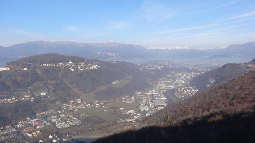 Grancia, non loin de Lugano