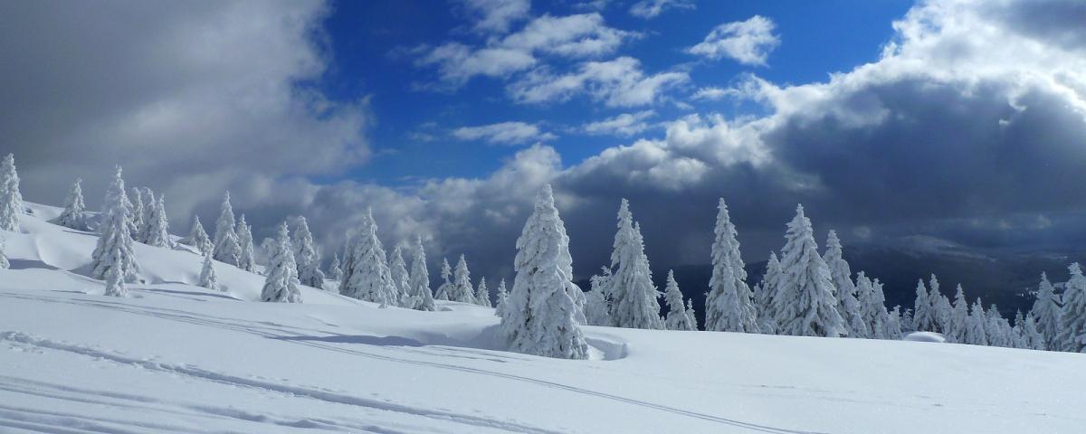 Le Noirmont en hiver