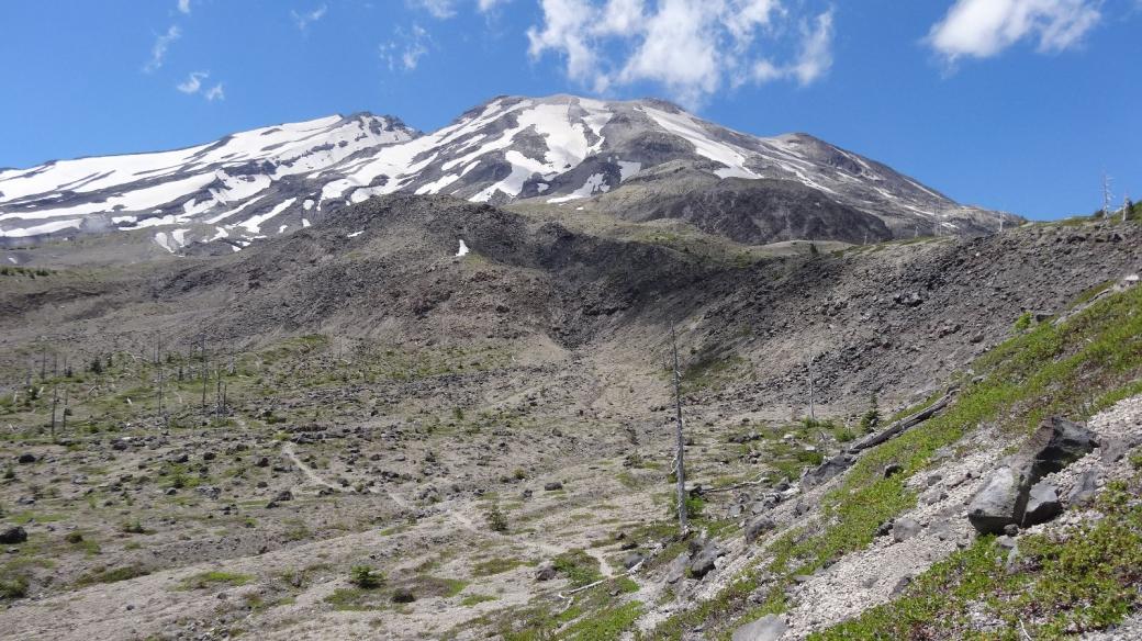 Encore une vue sur le Mont Saint Helens