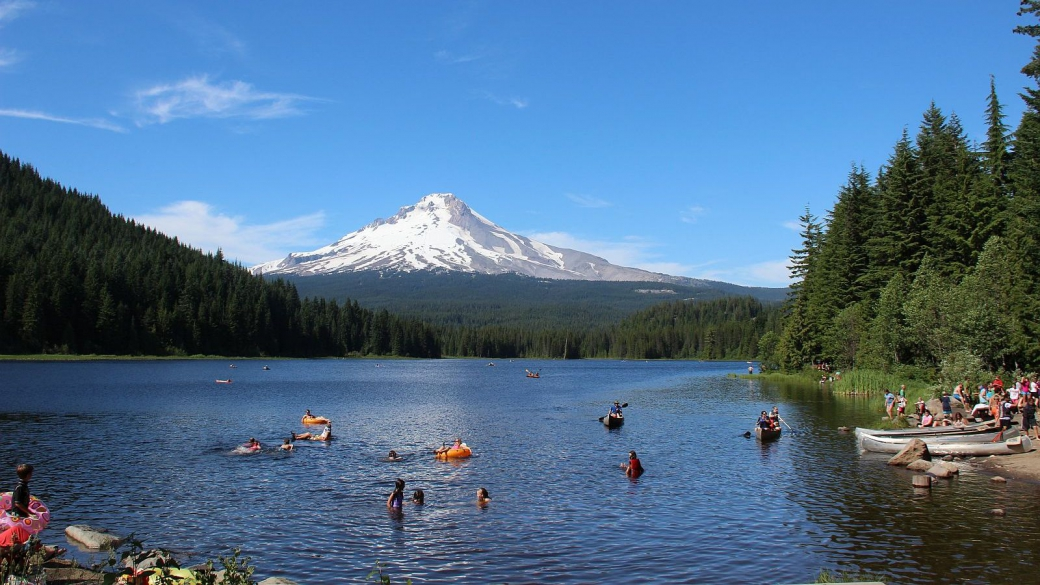Trillium Lake, Mt Hood, Oregon