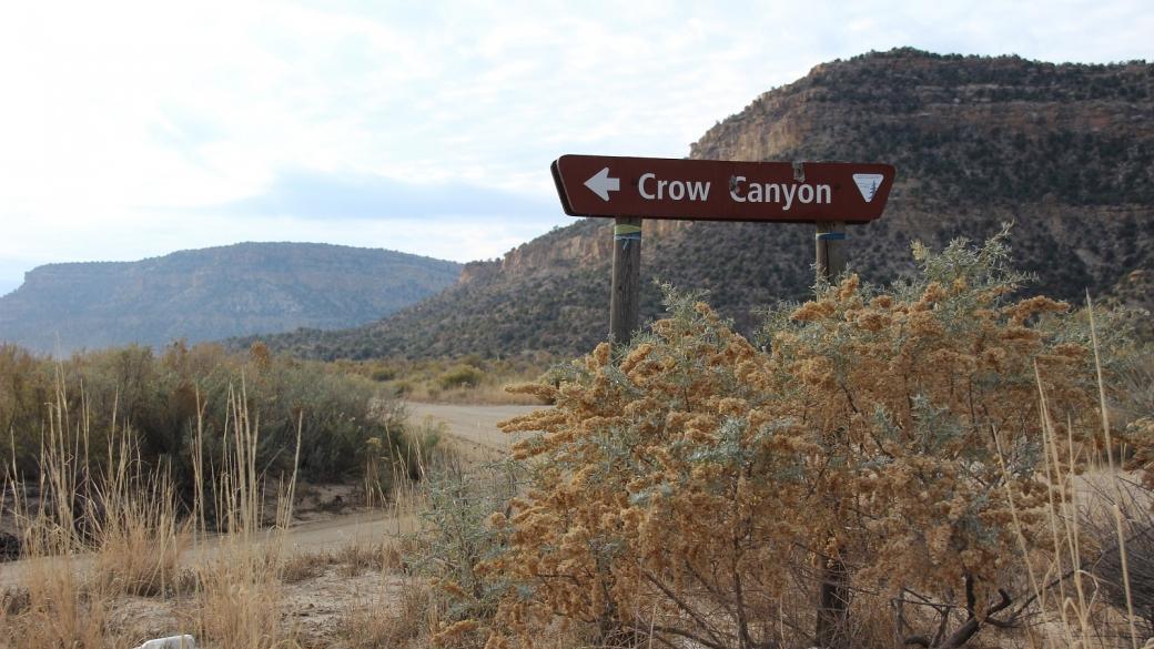 Crow Canyon sign