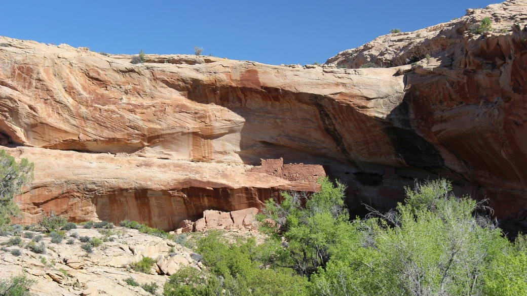 Split Level Ruins - Butler Wash - near Bluff, Utah
