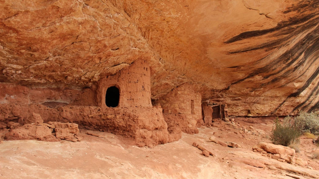 Bigfoot Ruins, Natural Bridges National Monument, Utah.