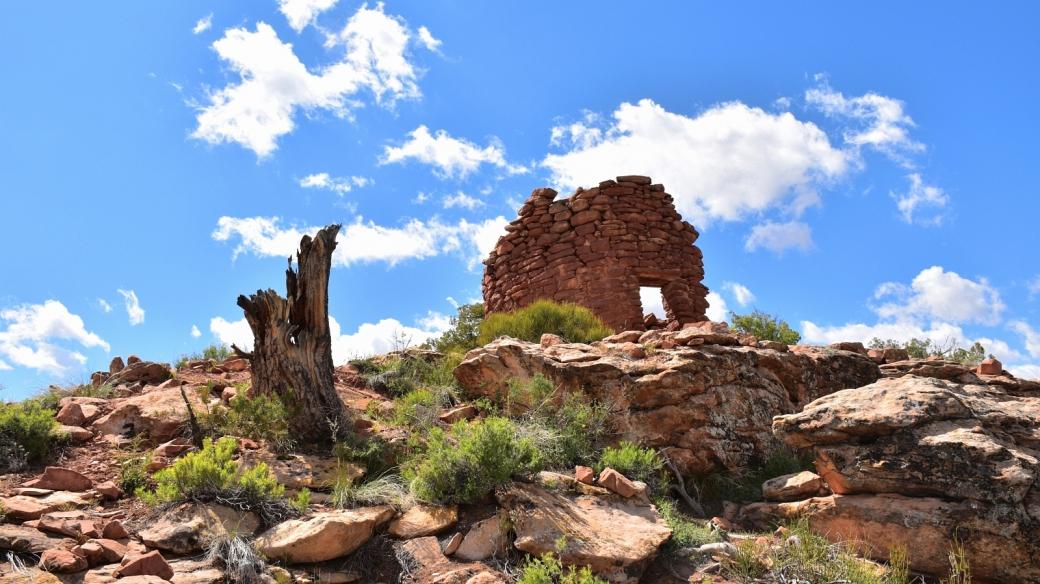 Cave Tower Ruins - Cedar Mesa
