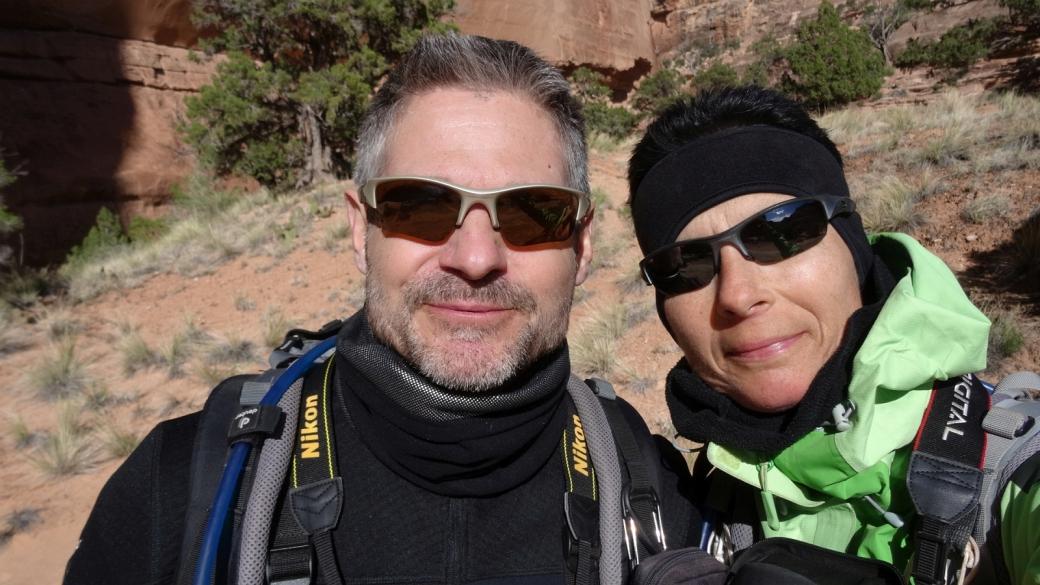 Stefano et Marie-Catherine Dotta - Sheiks Canyon - Cedar Mesa
