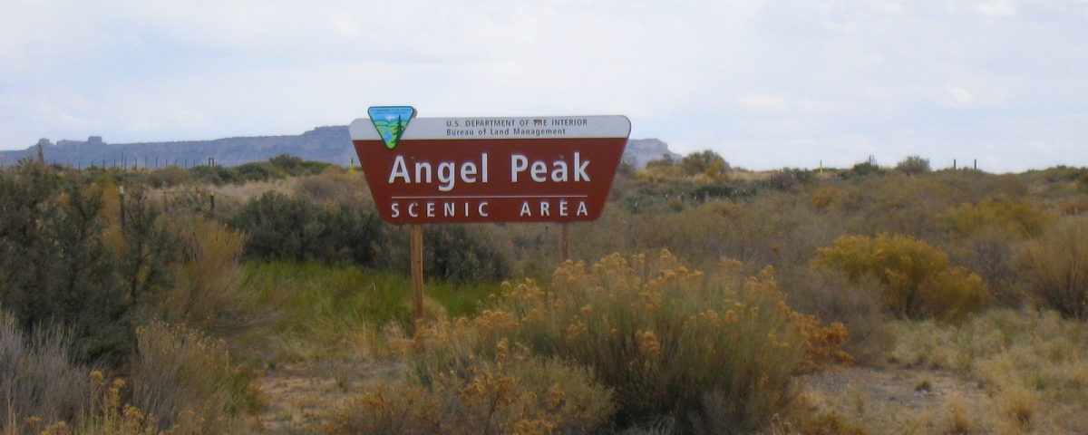 Angel Peak Wilderness Area - New Mexico
