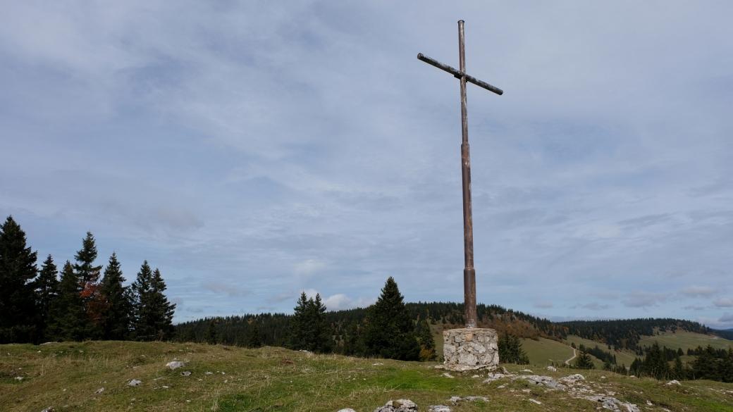 La croix du Mont Sâla
