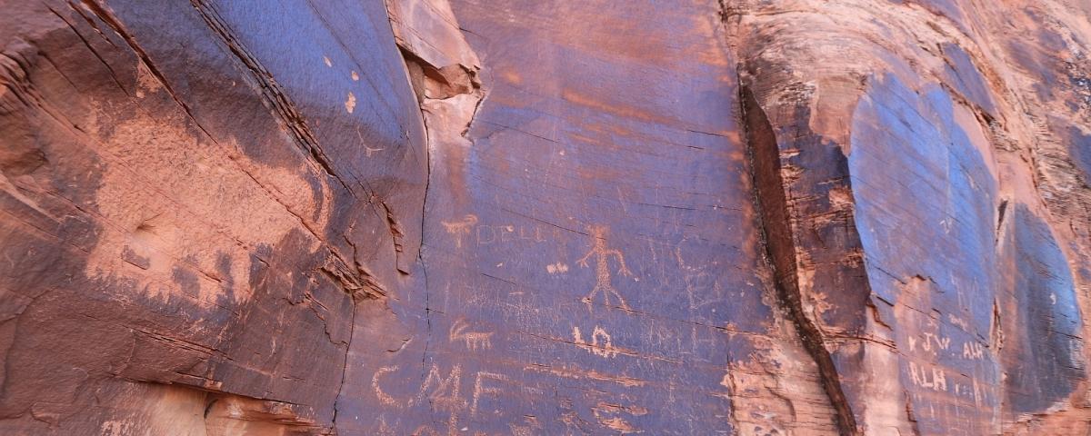 Le Mastodon Panel, à Moab.