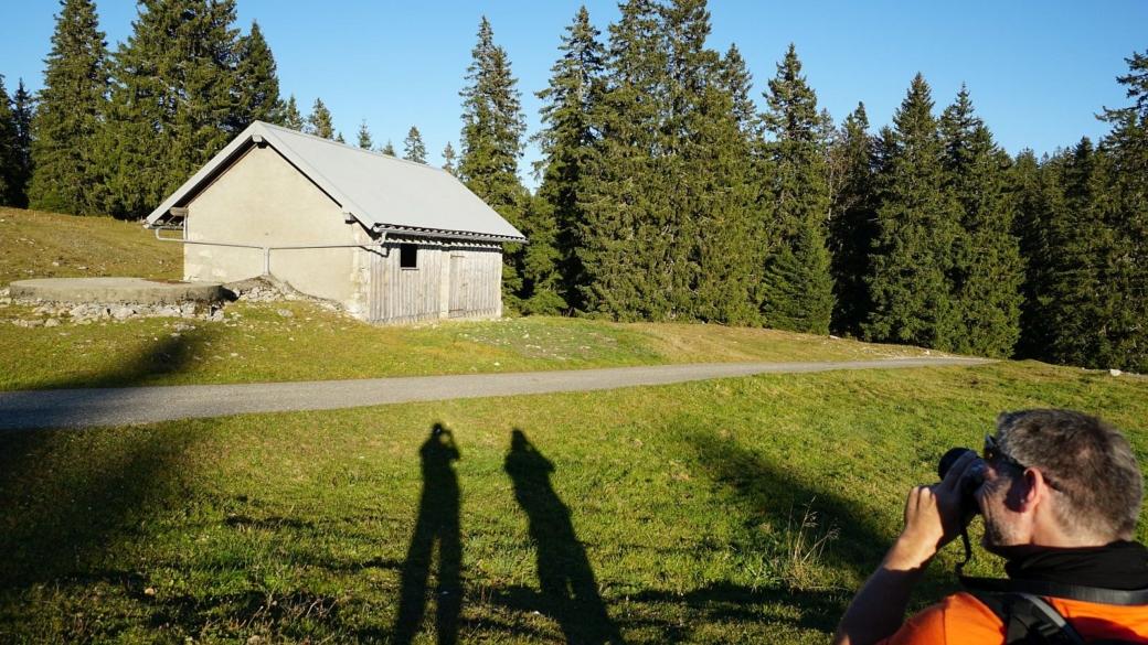 L'abri du Pré aux Biches, sur les hauteurs de la commune de Bière, Vaud.