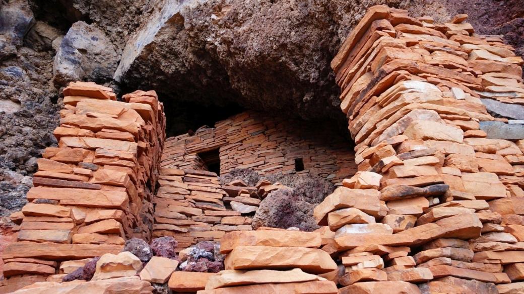 Sycamore Canyon Ruins, près de Sedona, dans l'Arizona.