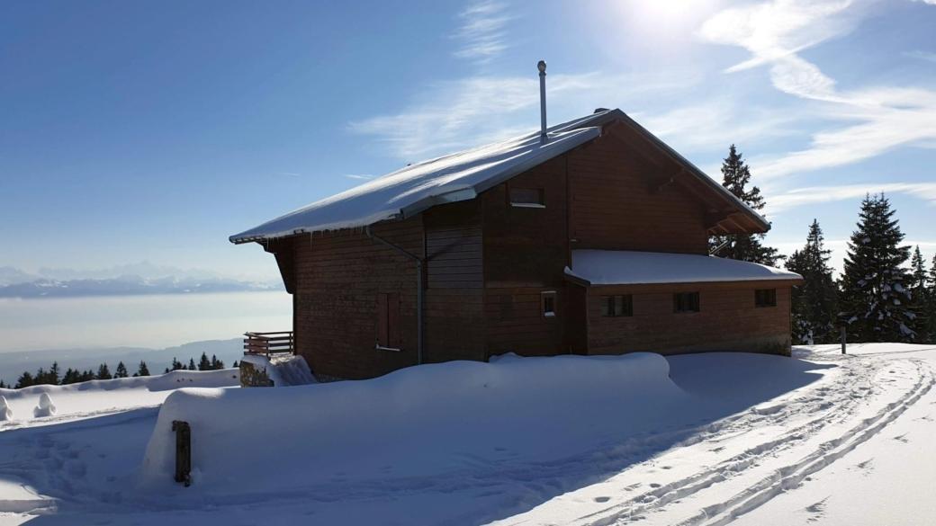 Chalet du Ski-Club de Bière - Vaud - Suisse