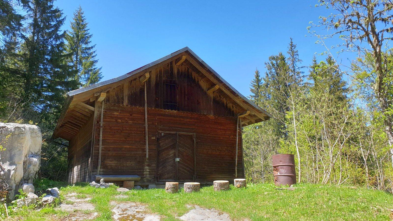 Refuge du Bois à Ban - L'Abbaye - Vaud - Suisse
