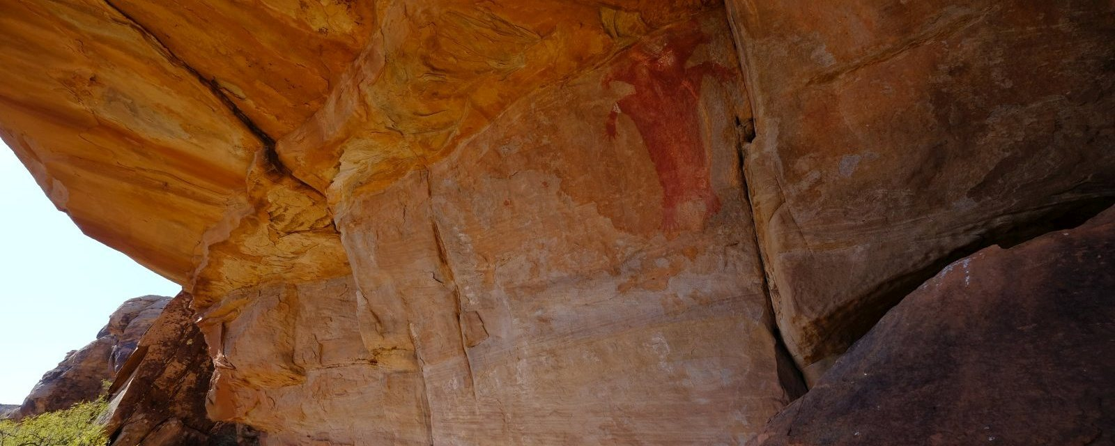 Fort Pearce Wash et Red Man Panel