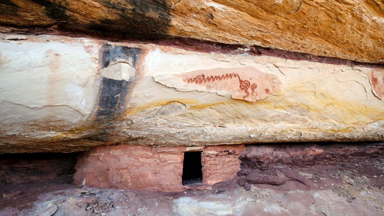 Remnant Ruin – Natural Bridges National Monument – Utah