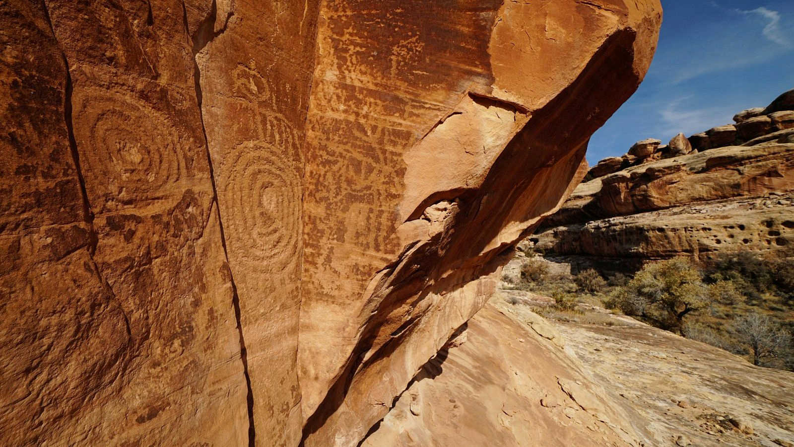 Railroad Panel – Grand Gulch – Bears Ears National Monument – Utah – États-Unis