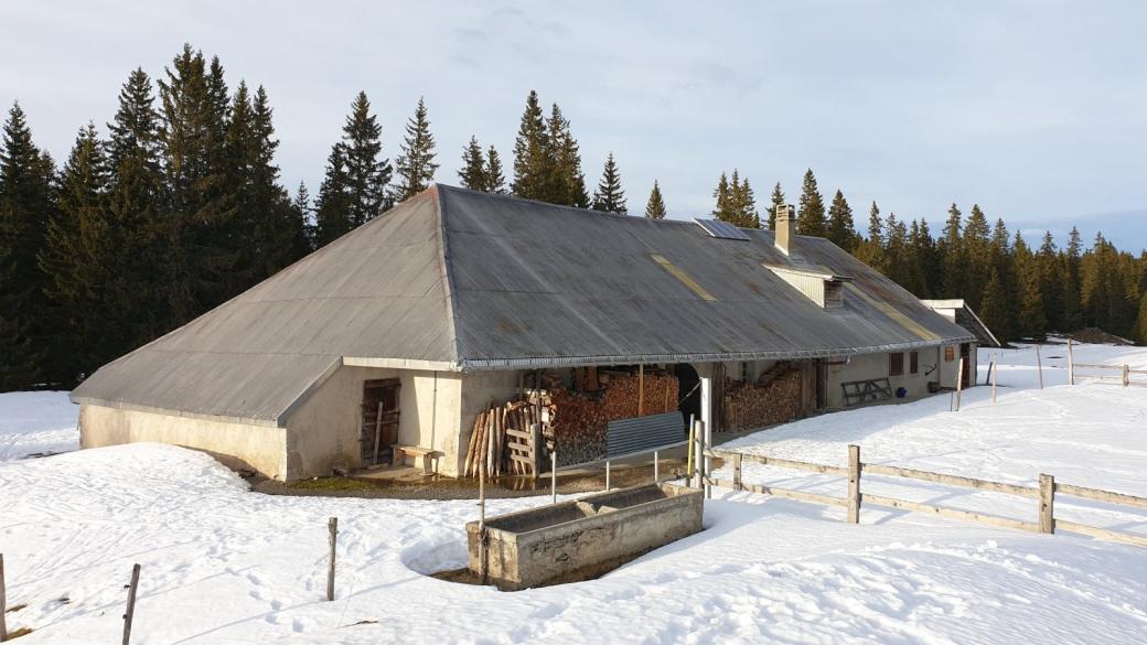 Sèche de Gimel - Le Chenit - Vaud - Suisse