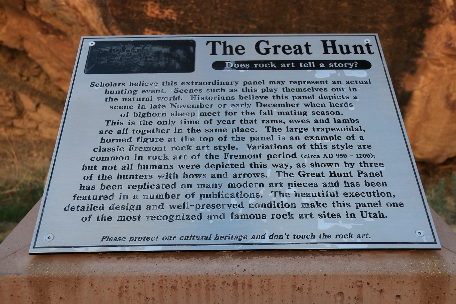 Great Hunt Panel – Nine Mile Canyon – Utah