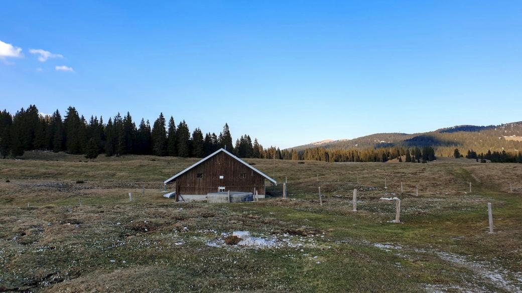 Couvert de La Plateforme - Le Chenit - Vaud - Su