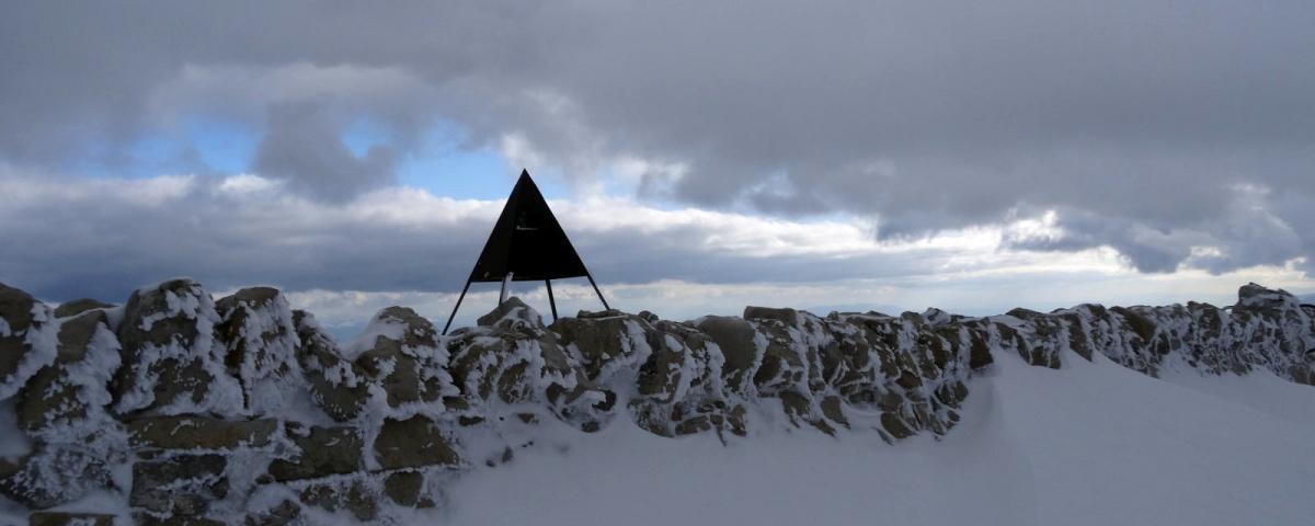Le Mont Tendre en SRN
