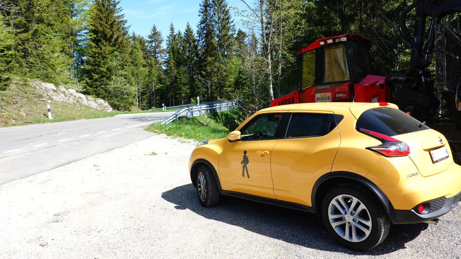Route du Marchairuz – Gimel – Vaud – Suisse