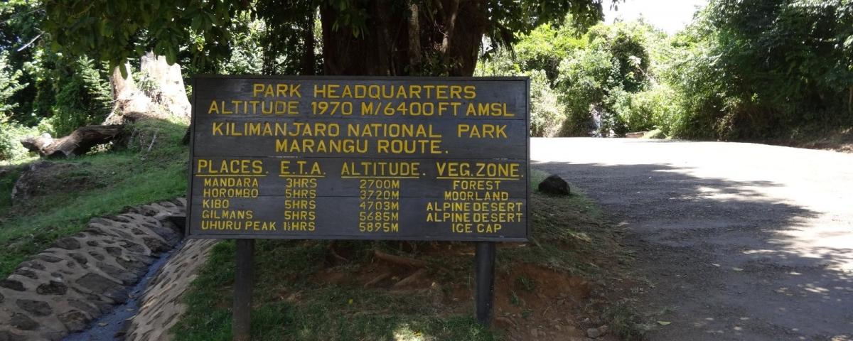 Kilimanjaro National Park