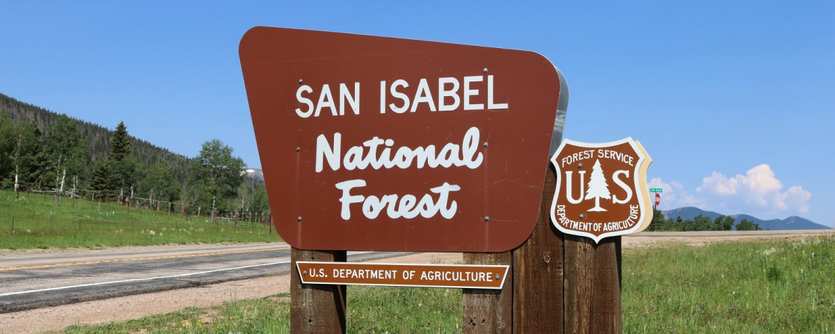 San Isabel National Forest - Jeffrey Beall / CC BY (https://creativecommons.org/licenses/by/4.0)