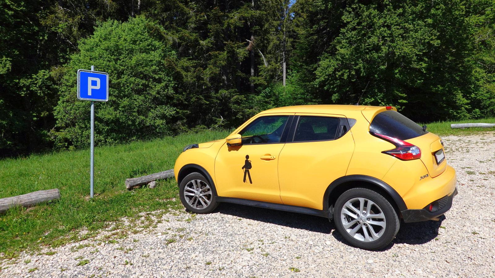 Parking du Creux des Abériaux – Arzier-Le Muids – Vaud – Suisse